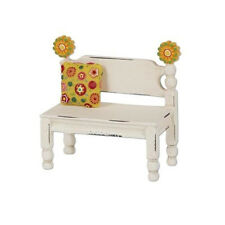 Studio M Merriment Mary Engelbreit Fairy Garden – Mini Flower Post Bench ME134