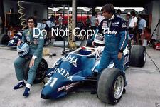 Riccardo Paletti & Jean-Pierre Jarier Osella F1 Portrait 1982 Photograph
