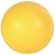 Trixie Single Ball -  Natural SOLID HEAVY Rubber Dog Ball - 5cm 6cm 7cm Or 8cm