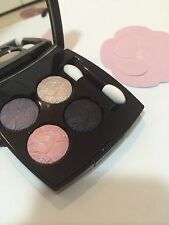 CHANEL quadra eye shadow Ombres Tracees JARDIN ZEN palette LE makeup cosmetics