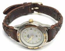 Timex Indiglo Quartz Wrist Watch Leather Band
