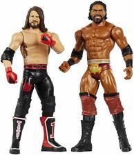Mattel GBN60 Figur WWE Battle Pack Jinder Mahal VS AJ Styles 15cm
