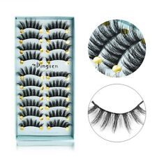 Wholesale 10 Pair Faux Mink Hair 3D False Eyelashes Thick Long Lashes Eye Makeup