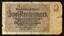 ALLEMAGNE   2 rentenmark 1937  ( 70231465 )