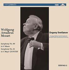 SSS0162  Evgeny Svetlanov / Mozart : Symphony No. 40 & No. 41 JUPITER