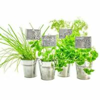 Metal Embossing Kit Planter Pot Labels Create Your Own Labels