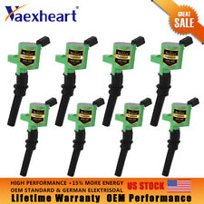 Set of 8 Ignition Coils For Lincoln V8 Ford E-350 F-150 F-250 DG508 Expedition