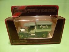 MATCHBOX YESTERYEAR Y-3 FORD MODEL T TANKER 1912 CARLBERG - EXCELLENT IN BOX