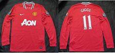 Ryan Giggs #11 Manchester United Home Shirt Langarm Nike 2011-2012/Erwachsene M