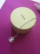 Original TOUS Bear Silver Camille Necklace