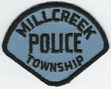 **MILLCREEK TOWNSHIP OHIO POLICE PATCH**