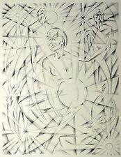 ALFRED HANF - Die Sfärengeliebte - Lithografie 1919/1920