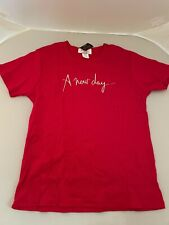 Celine Dion Memorabilia A New Day Red Shirt