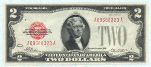 UNITED STATES 2 Dollars 1928 P378 UNC