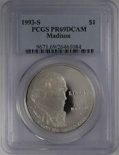 1993-S $1 Madison Commemorative PCGS PR 69 DCAM