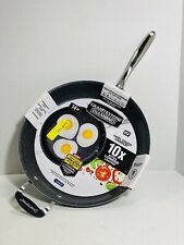 New listing Aluminium 14-In Nonstick Skillet Frying Pan Heavy Duty Cookware Cooking Kitchen