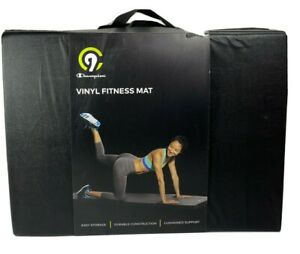 Champion Vinyl Fitness Workout Exercise Accessory Mat 72 X 24 X 1 1/2