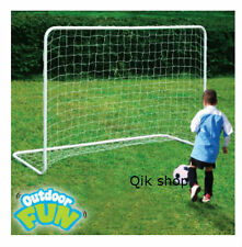 Garden Football Goal Large Steel Post Net Kids Outdoor Children Soccer Toy New