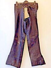 Chaps Black Leather