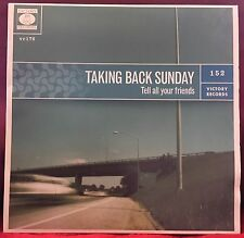 Taking Back Sunday Tell All Your Friends LP Victory Records 2002-2007