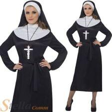 Déguisements costumes noir pour femme nonne