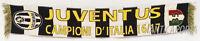 Bufanda Juventus Original Jacquard 35 Juve Conmemorativo Acrílico 2017 Scudetto