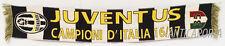 Sciarpa Juventus Originale Jacquard 35 Juve Celebrativa Acrilico 2017 scudetto