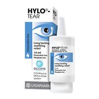 Hylo Tear Preservative Free Eye Drops for Dry Eyes 10ml - Multibuy
