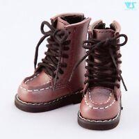 【Tii】1//4 BJD shoes lace boots MSD MDD VINTAGE Super Dollfie mini fee AF DK Luts