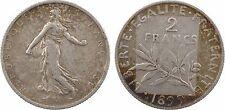 2 francs semeuse, IIIe République, 1899 Paris - 98