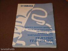 MANUEL REVUE TECHNIQUE ATELIER YAMAHA TT-R 125 TTR 2002