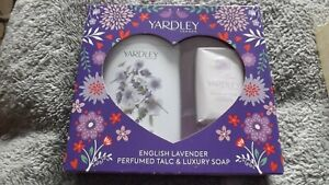 Yardley London Lavender Talc and Soap Gift Set lavender New