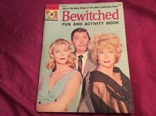 Bewitched fun activity book-1965
