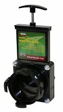 Valterra Twist On Waste Gate Valve Gray Black Tank Dump Rv Travel Camp Trailer