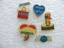 LOT 5 PIN'S CAPRICE DES DIEUX / ALIMENTATION FROMAGE N PIN PINS S9