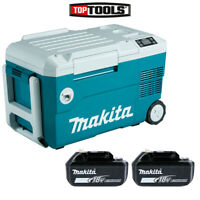 Makita DCW180 18V LXT Cordless Cooler & Warmer Box With 2 x 5.0Ah Batteries