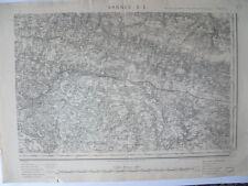 Carte d'État-Major Vannes Sud-Est