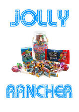 JOLLY RANCHER ORIGINAL ASSORTED HARD CANDY TREAT JAR LOVELY GIFT IDEA