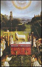 1986 BELGIE / BELGIUM / BELGIEN Mi. BLOK 56 CULTUUR SCHILDERIJEN POSTFRIS (MNH)
