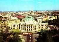 Wien , Burgtheater , Ansichtskarte , 1983 gelaufen