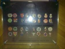 32 Pin badge collection Champions League 2003-2004 OFFICIAL, ORIGINAL in BOX