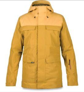 Dakine Control 2L Snowboard Ski Jacket GORE-TEX Men's Small Brown NEW $380