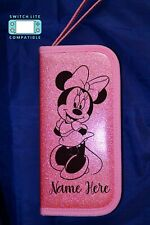 Personalised Disney Minnie Mouse Nintendo Switch Lite Case Cover Gift Pink