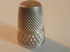 Dé a coudre argent Ancien /Antique french silver thimble/altes Fingerhut Silber