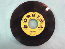 Scott Engel, Comin Home / I Don't Want To Know, Orbit Records R 545x45, 1958 Pop
