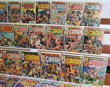 Conan the Barbarian 1 lot Complete Full Run #30-275 High Grade CGC them many 9.8