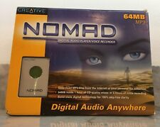 CREATIVE LABS: NOMAD MP31ST GEN/64 MB WINDOWS 95/98 MIB NEVER OPENED!