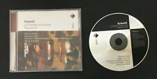 La Tragedie De Salome Op 50 / Psaume 47 / Op 38 AUDIO CD Classical F. Schmitt