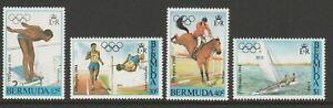 Bermuda 1984 Olympic Games set SG 478-481 Mnh.