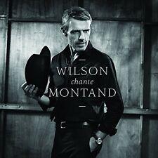 LAMBERT WILSON - WILSON CHANTE MONTAND  CD NEU VARIOUS